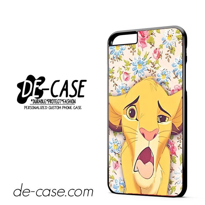Lion Simba Pride Floral DEAL-6559 Apple Phonecase Cover For Iphone 6/ 6S Plus