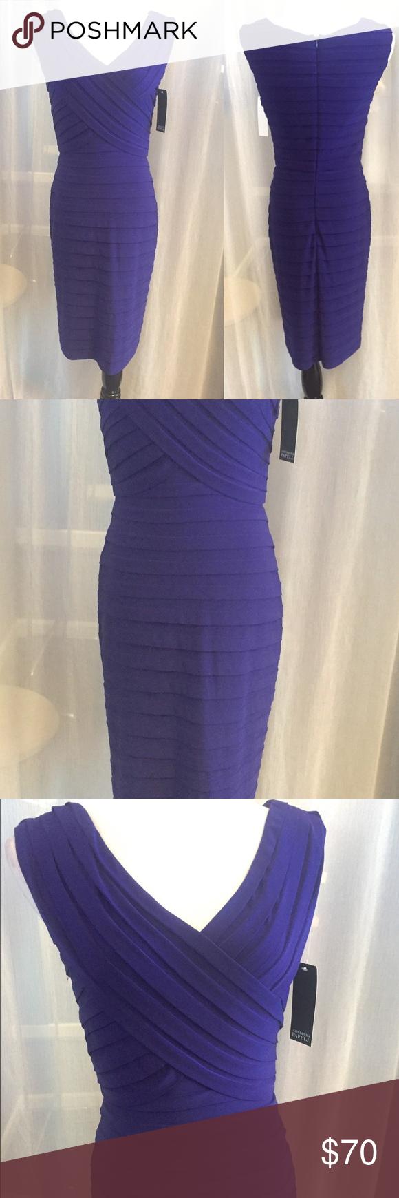 Famoso Vestido De Cóctel Adrianna Papell Ornamento - Colección del ...