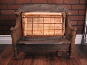 Vintage Humphrey Radiant Fireplace Fire Stove Natural Gas