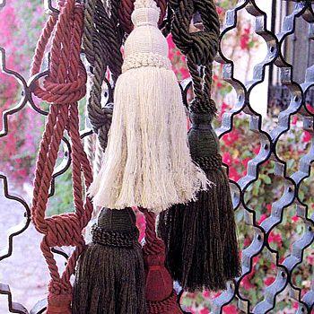 Agarraderas para cortinas al crochet faciles   buscar con google ...