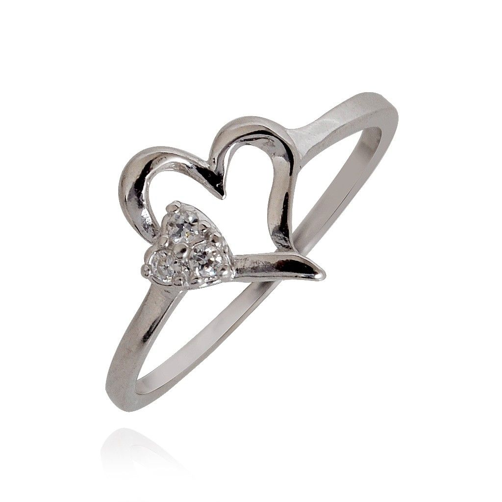 Symbol of Love Silver Ring - Rings - Silver - Material - Products ...