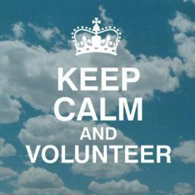 Quotes About Volunteering Keep Calm And Volunteer  Volunteering Giving Back & Community .