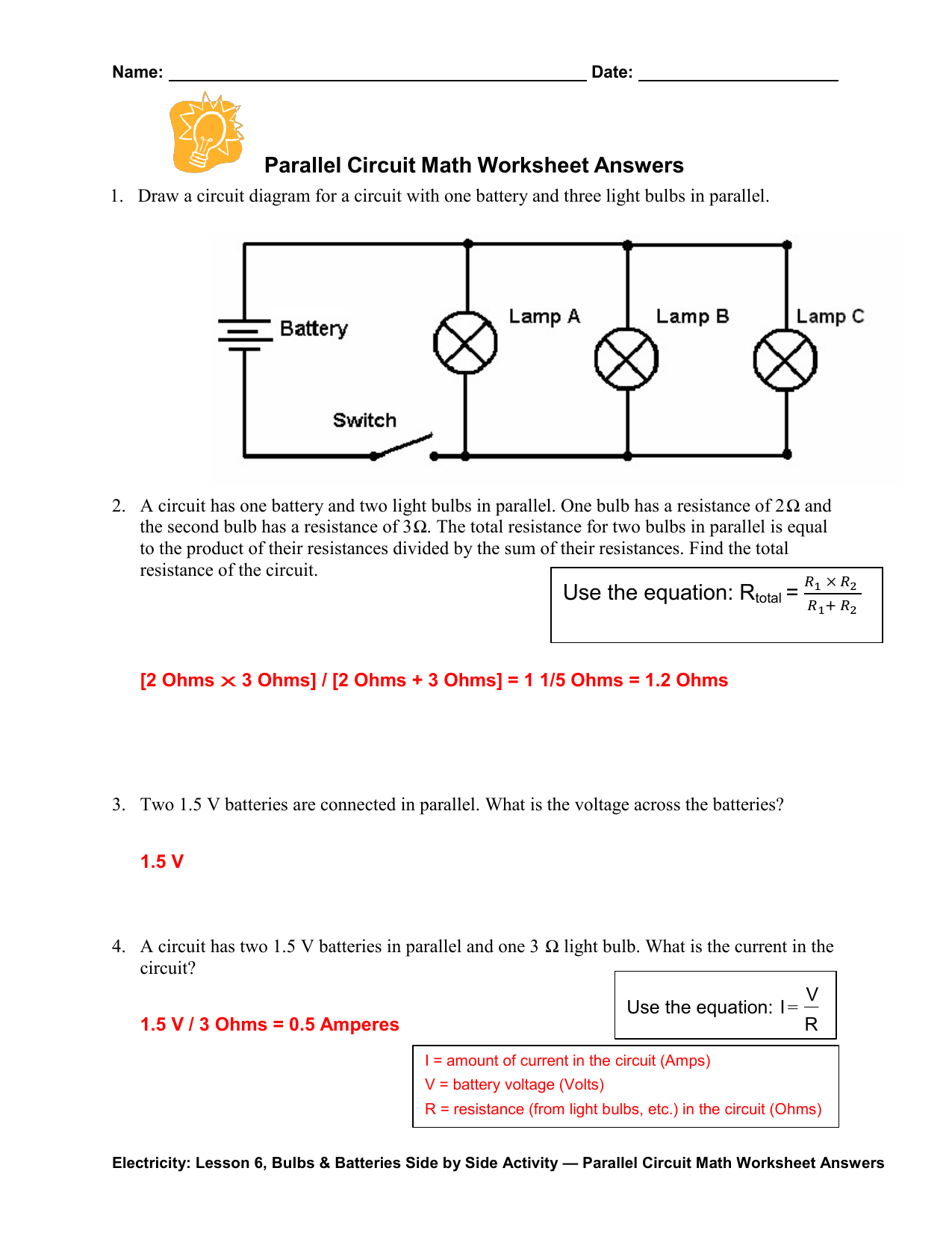 Beautiful Wiring Diagram Worksheet Diagrams