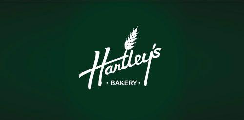Hartley S Bakery Bakery Logo Logos And Bakery Logo Design