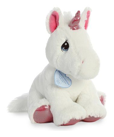 Another great find on zulily! Sparkle Unicorn Plush Toy