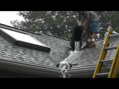 Roof Valley Rain Water Diverter Tests Www