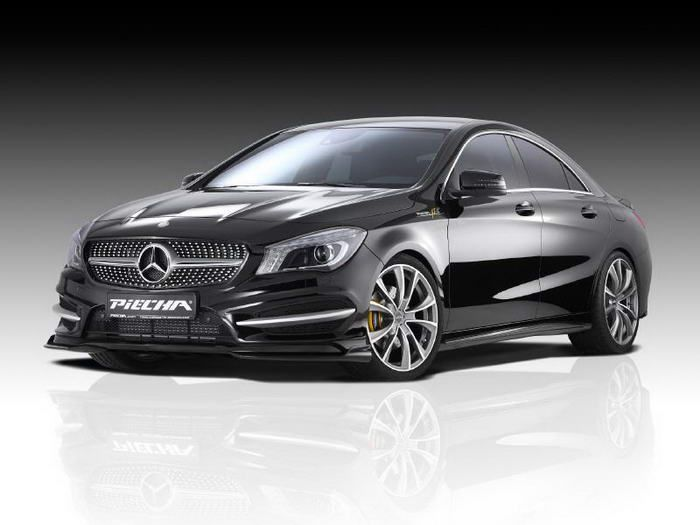 Mercedes Benz Cla 250 Customized By Piecha Design 2013 Review