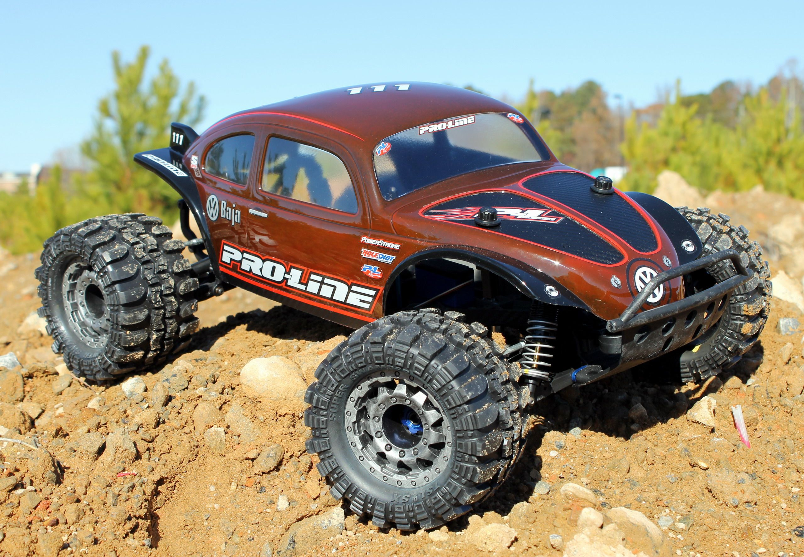 Pro Line Monster Baja Beetle Transformation for the Original Traxxas Slash 4X4