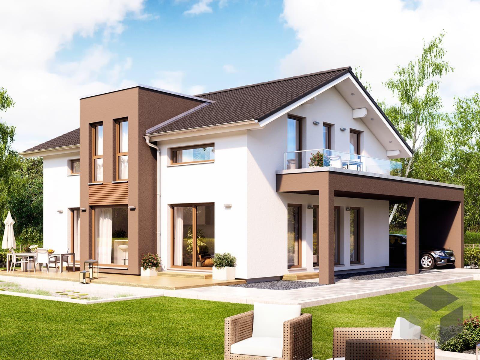 Einfamilienhaus Fantastic 162 V5 mit Satteldach von Bien