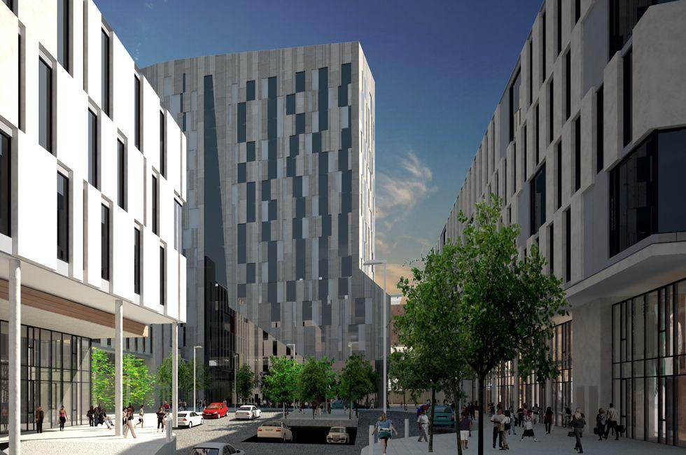 Ceannt Station Urban Quarter / Galway (IE) / MOLA Architecture