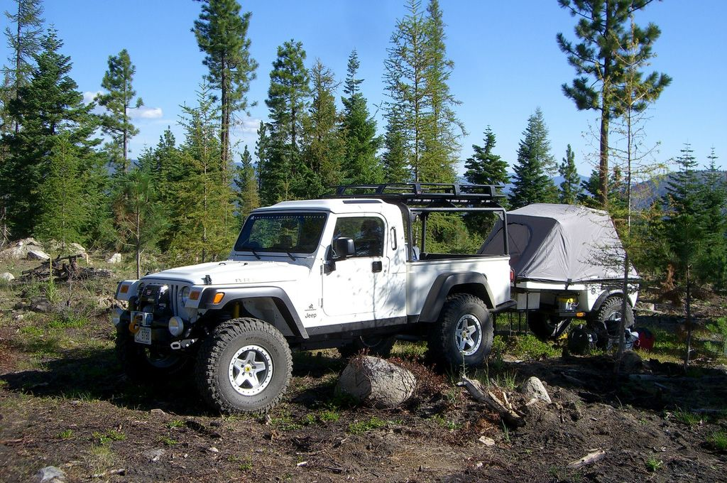 Jeep Brute Offroad Camp Custom American Expedition Vehicles