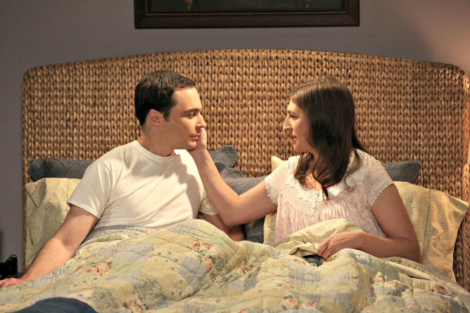 If Amy's reaction to sex was any indication, The Big Bang Theory finally lived up to its name! The cat (or rather, soft kitty) has been out of the bag for weeks that this was...