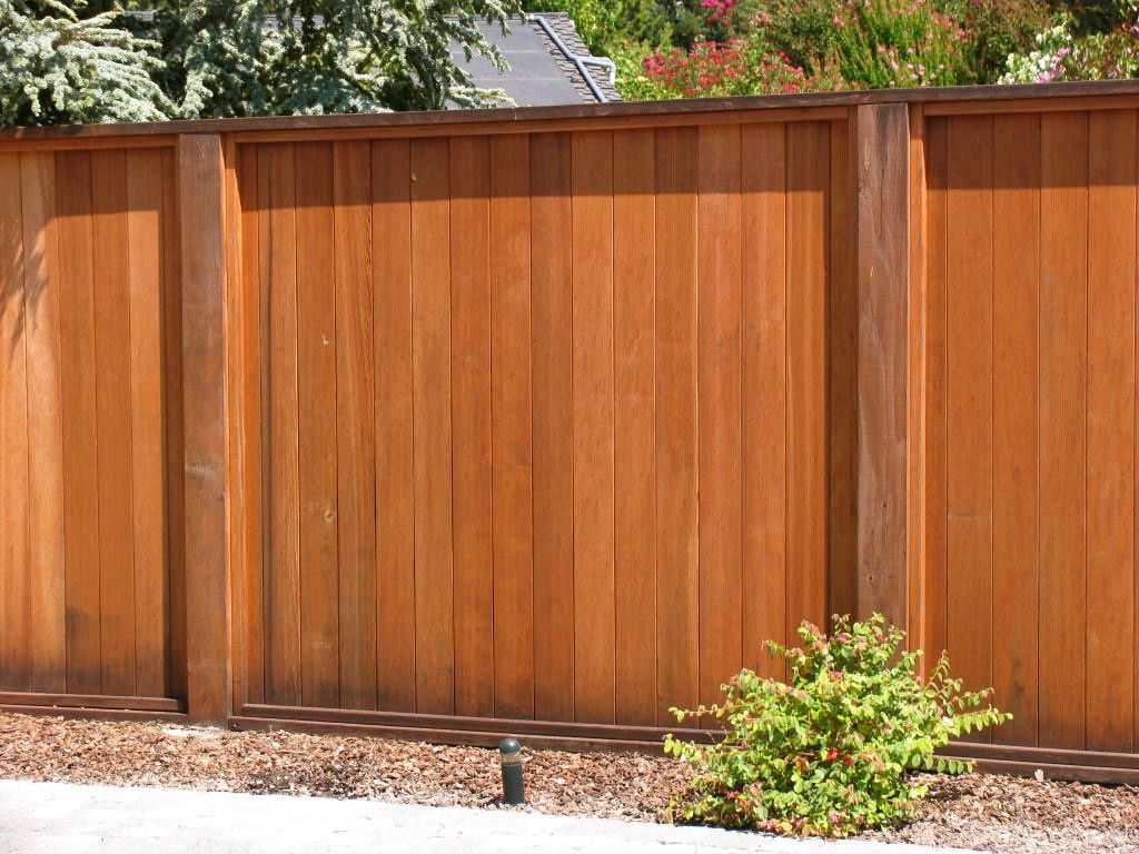 Tongue And Grove Solid Redwood Fence By Arbor Fence Inc Fence