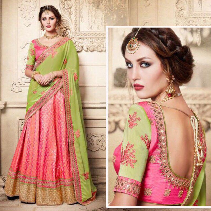 Lehenga Choli New Designer Embroidered Indian Asian Women Wedding ...