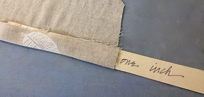 from katherine tilton's studio: Tips of the Trade press hems early; use template