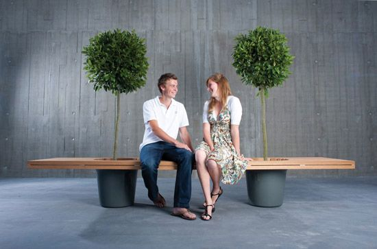 green bench: Urban furniture ?!?!