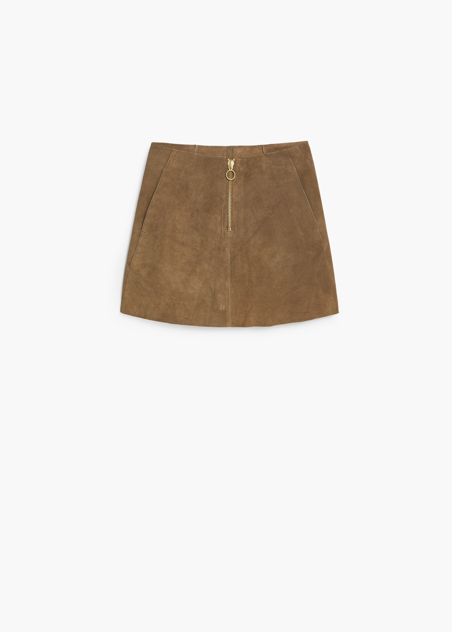a21addff8 Premium - falda serraje - Mujer | MANGO | Moda | Moda para mujer ...