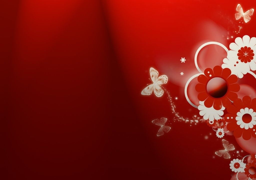 Red Butterfly Wallpaper…