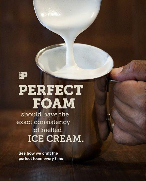 Perfect Foam | Peet's Coffee & Tea