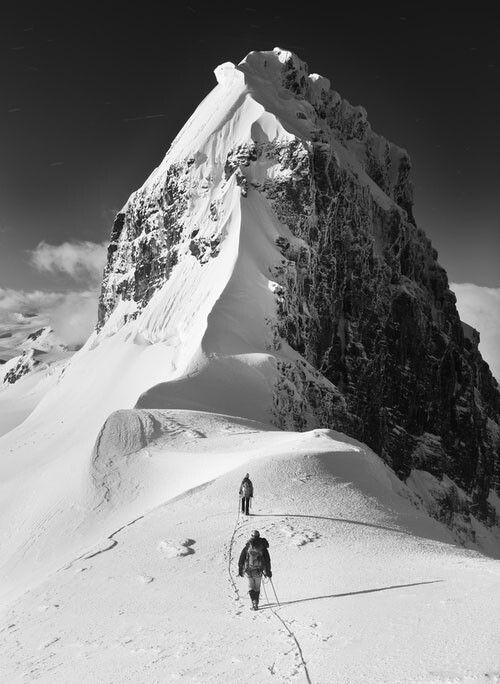 Climb, and then keep climbing.