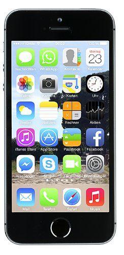 apple iphone 5s smartphone 16gb 10 2 cm 4 zoll ips. Black Bedroom Furniture Sets. Home Design Ideas