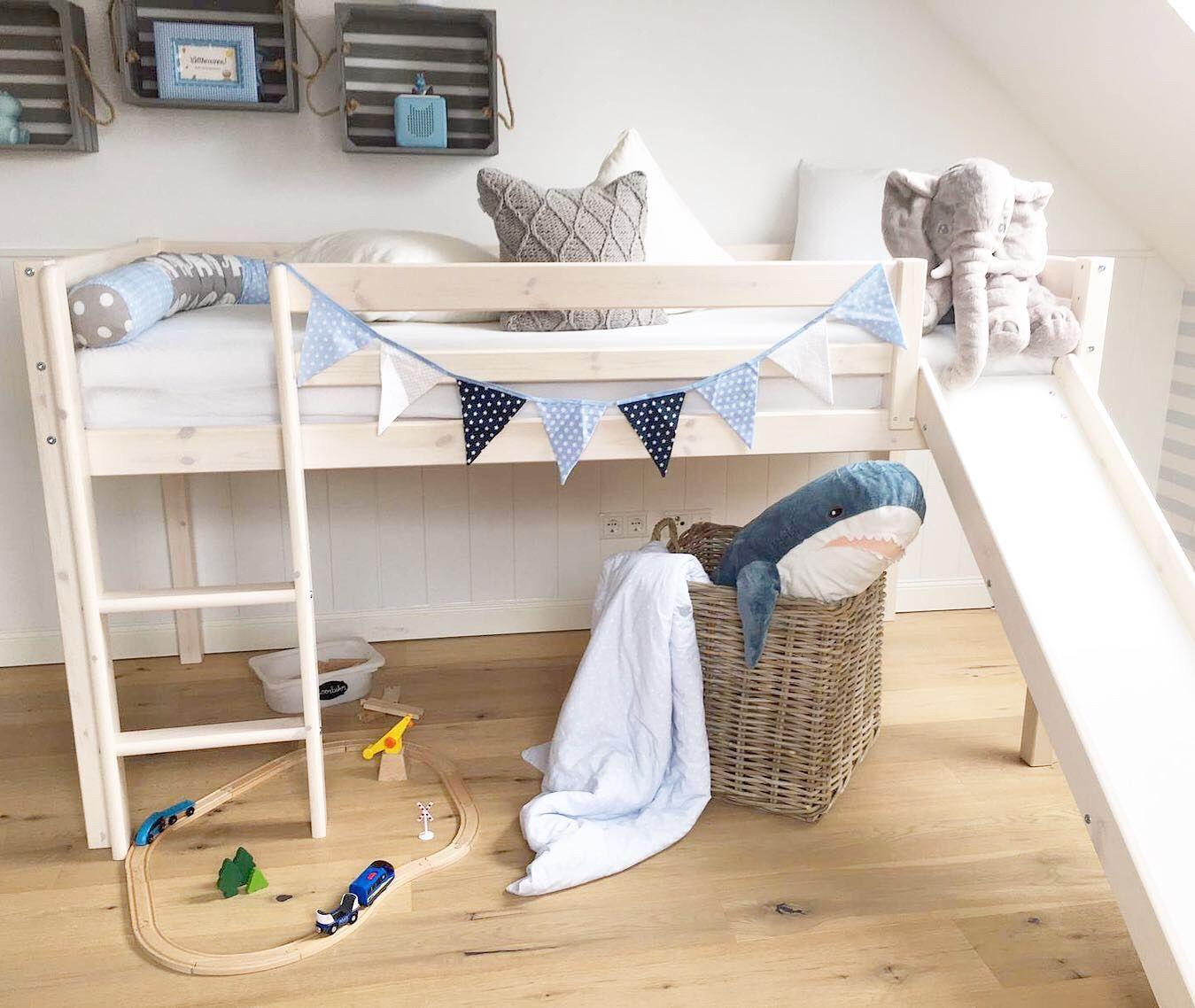 Danisches Bettenlager Frieda Hochbett Jungenkinderzimmer