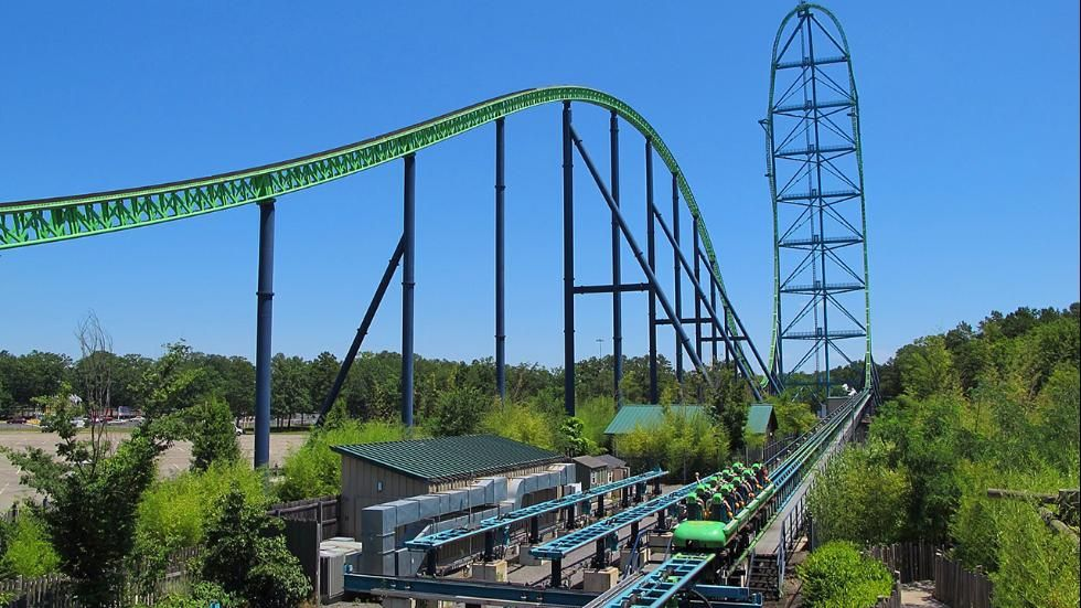 Articles From The Weather Channel Weather Com Six Flags Great Adventure Kingda Ka Scary Roller Coasters