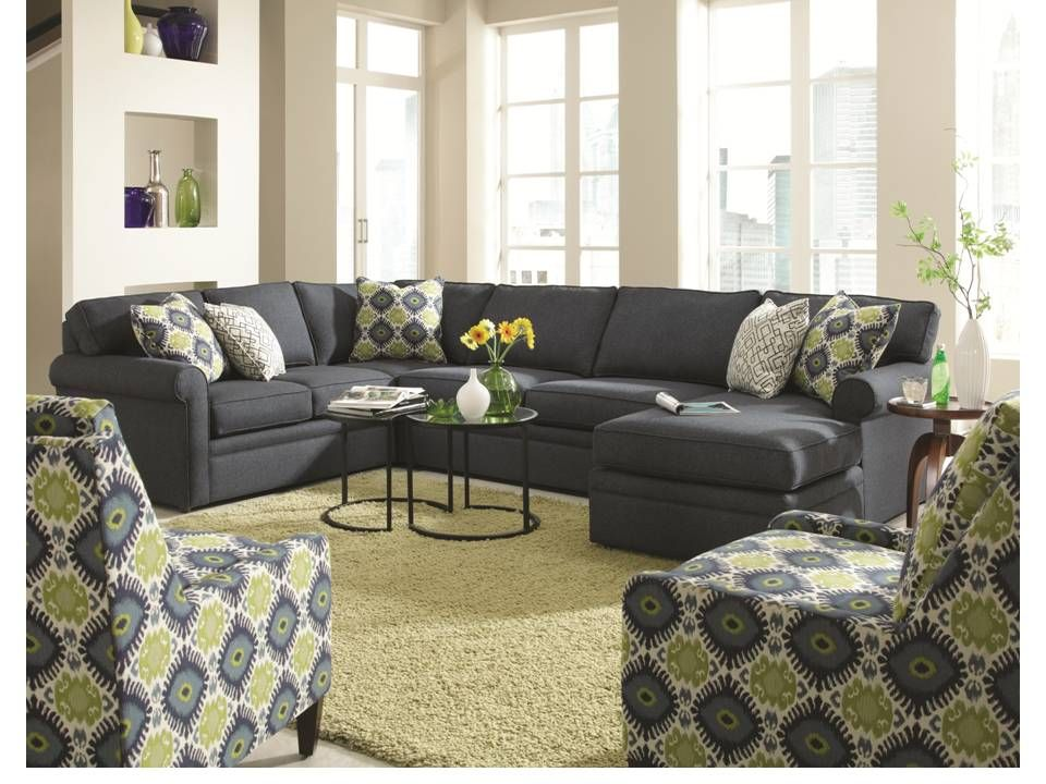 Brentwood Sectional By Rowe Great Sectional Love The Navy