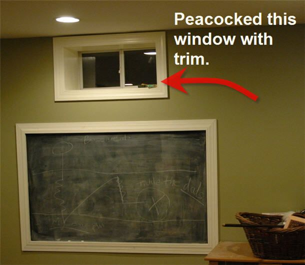Basement Idea Framed Windowdefinitely Want The Windows Framed Inspiration Basement Idea