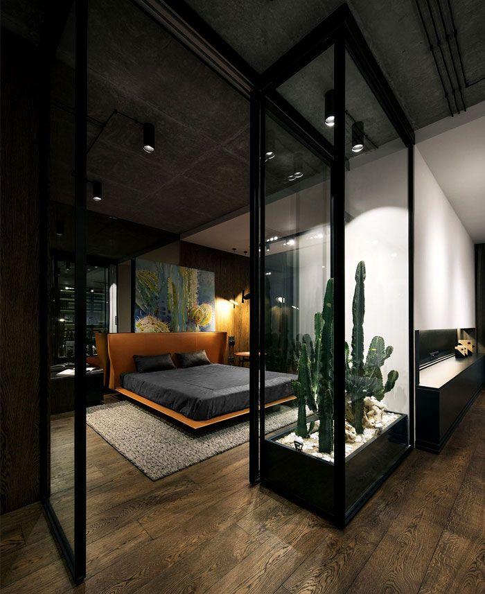 Best Desert Loft In Kiev By Yodezeen Apartment Bedroom Decor 400 x 300