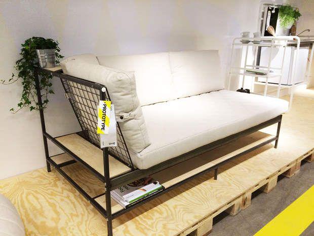 micro living le lit asken set nouveaut ikea 2016 2017 nos coups de coeur tiny spaces and. Black Bedroom Furniture Sets. Home Design Ideas