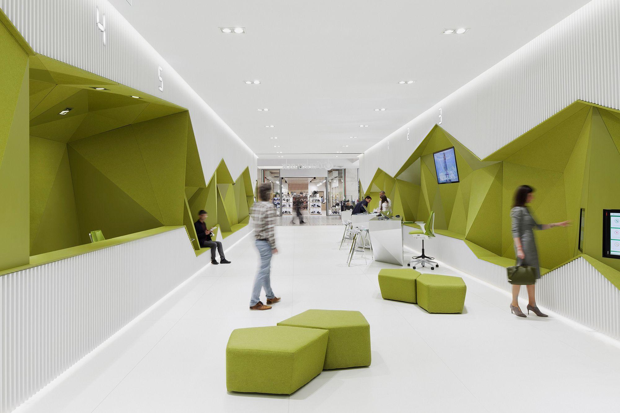 Flagship Branch Bank Dsk Da Architects Commercial Interior Design