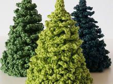 Häkelanleitung Kleine Tanne Weihnachtsbaum Häkeln Weihnachten