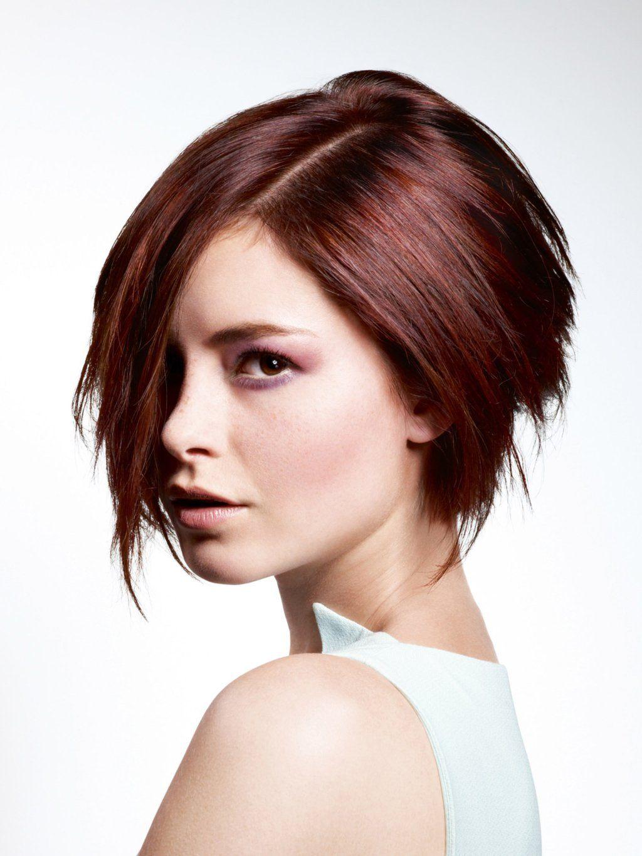 Frisuren halblang hinten kurz