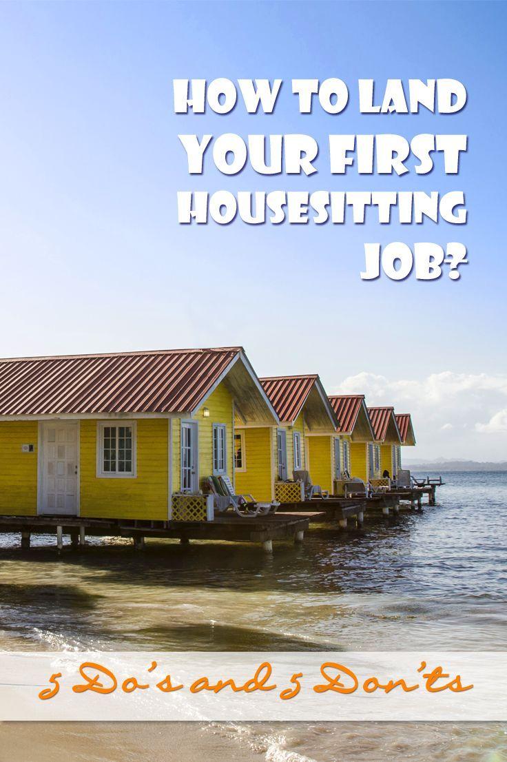 How to land the best house sitting jobs? Travel, Travel