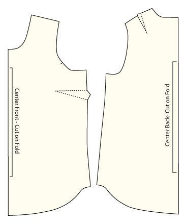How to Make a Tank Top Pattern, Part 2 / Amy Alan / Really Handmade ...