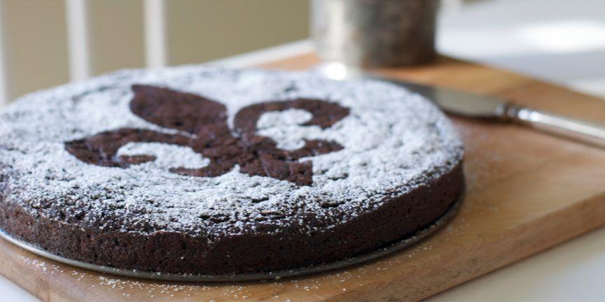 cake recept met cacaopoeder