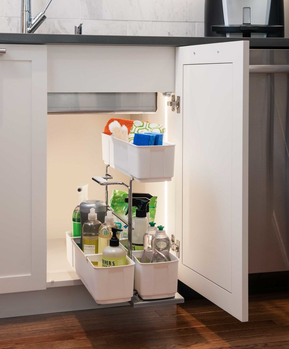 Cleaningagent Kesseböhmer Clever Storage Under Sink Organization Under Sink Storage Sink Organizer