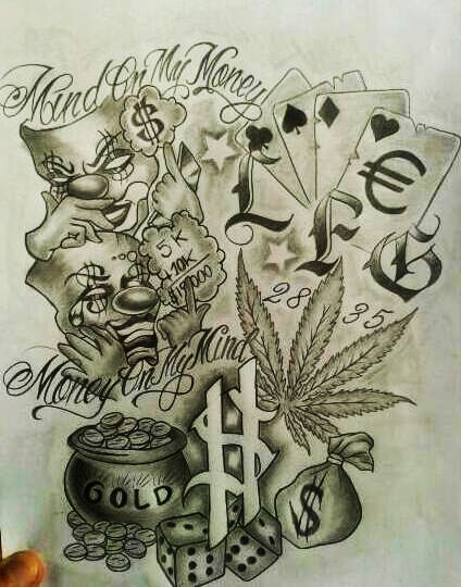 Browsing Tattoo Design On Deviantart Gangster Tattoos Gangsta