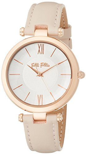 [Folli Follie] FolliFollie LADY BUBBLE Quartz Leather Watch M (Pink) WF16R010SPS-PI Ladies [regular imported goods]
