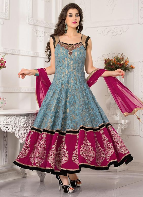 971229393664 Latest Asian Umbrella Style Dresses   Frocks Designs 2018-19 ...