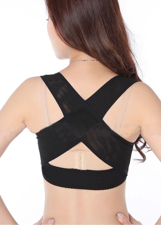 46b83a300c Cross Back Brace Bra Back Support Posture Corrector Body  Shaper Shapewear Sexy Lingeire