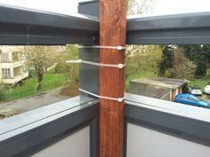 Balkon Bambus Sichtschutz selber bauen - Befestigung #bambussichtschutz Balkon Bambus Sichtschutz selber bauen - Befestigung #bambussichtschutz