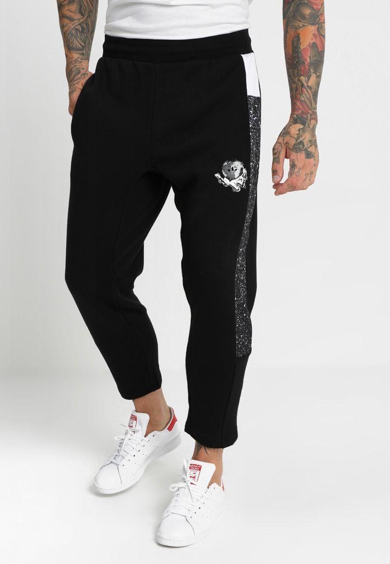 38de5deef05a adidas Originals PLANETOID - Tracksuit bottoms - black - Zalando.co ...