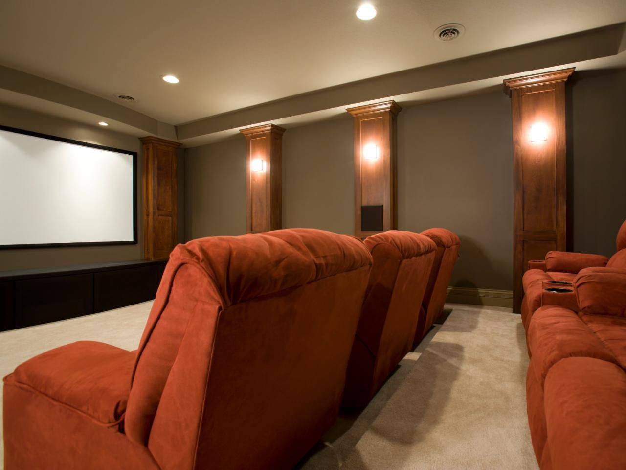 Home Theater Design Basics With Images Home Theater Room