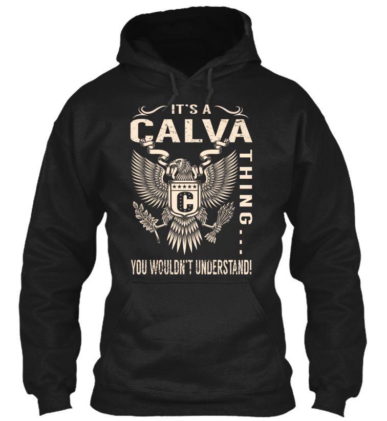 Its a CALVA Thing #Calva