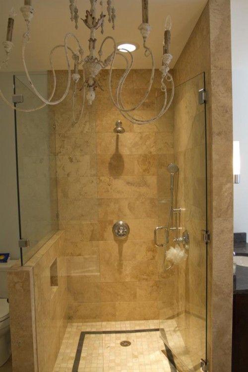 turn closet into shower - Google Search   Bathroom   Pinterest