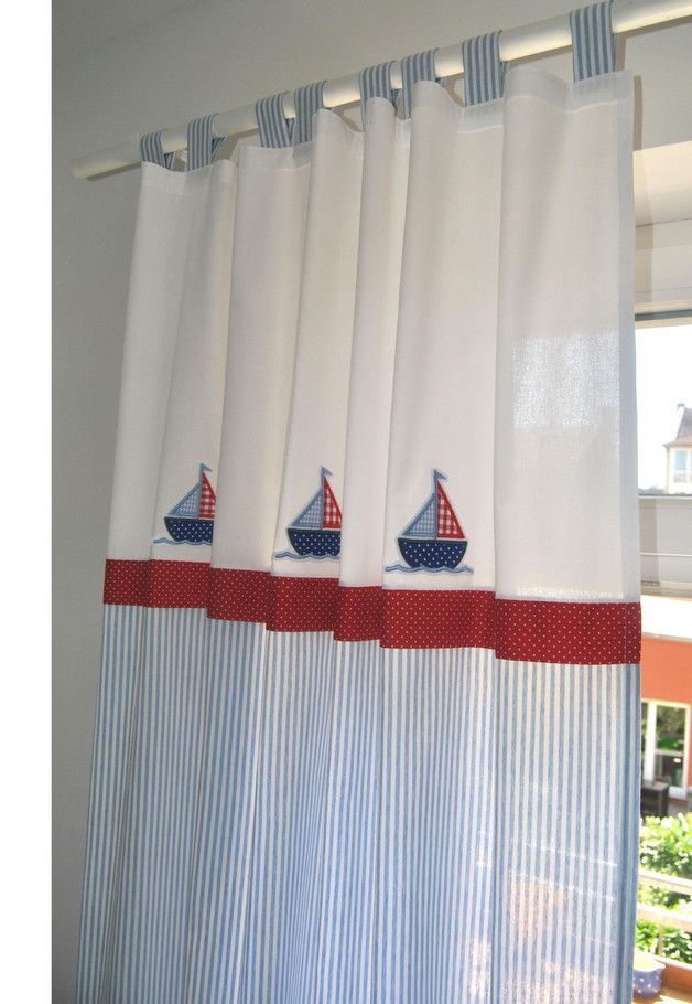 Gardine Vorhang Kinderzimmer Marine Vorhang Kinderzimmer Kinder