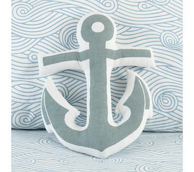 Anchors Away Throw Pillow   $19.00