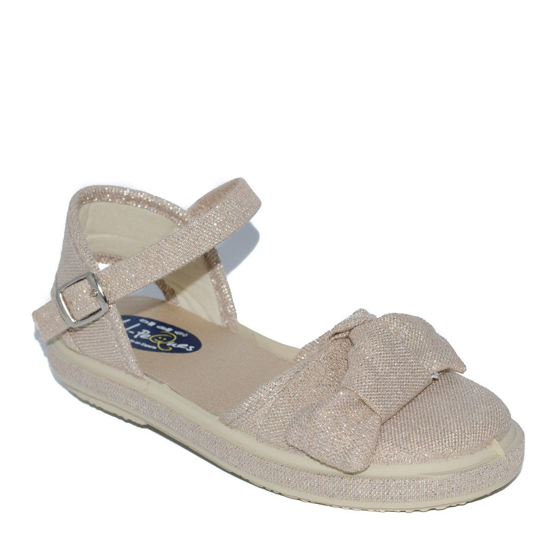 18c98599bdd Sandalia para niña mabel oro de Vul-Peques | Calzado Infantil | Sandals